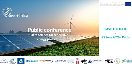 Smart4RES Public conference bilhetes
