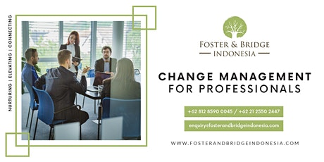 Change Management for Professionals tickets