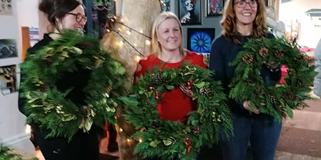 Christmas Wreath Making and Festive Refreshments tickets