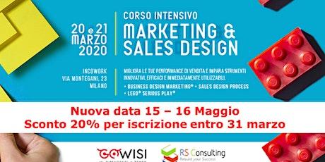 Marketing & Sales Design Intensive Program biglietti