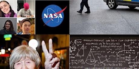 Helghäng - 107 år, NASA, Silicon Valley, mordutredning, matte, 3D-printing... biljetter