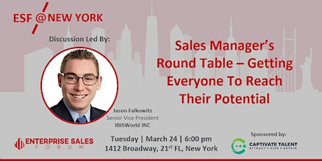 Sales Managers Round Table - Getting Everyone To Reach Their Potential tickets