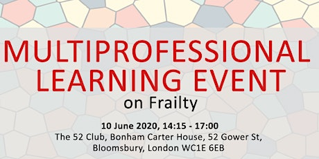 Multi-Professional Learning Event on Frailty  tickets
