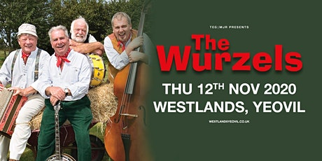 The Wurzels (Westlands, Yeovil) tickets