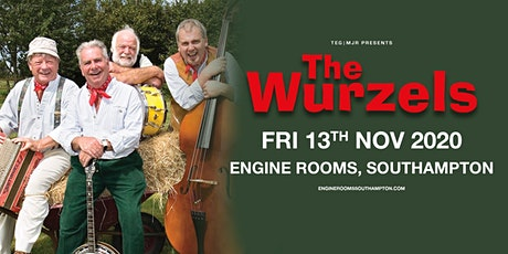 The Wurzels (Engine Rooms, Southampton) tickets