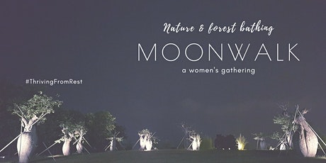 Moon Walk: Nature and Forest Bathing - a women's gathering tickets