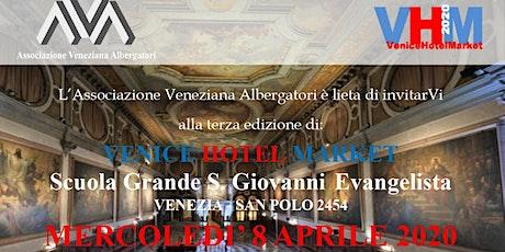 Venice Hotel Market 2020 biglietti