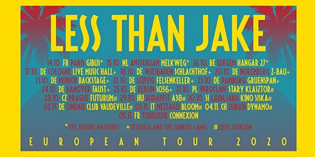 Less Than Jake - The Suicide Machines - mtba tickets
