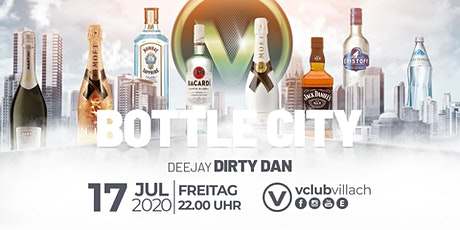 Welcome to Bottle City at V-Club Villach Tickets