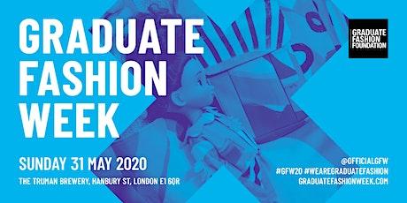Graduate Fashion Week 2020 - SUNDAY tickets