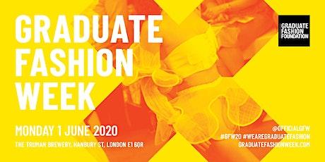 Graduate Fashion Week 2020 - MONDAY tickets