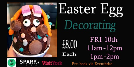Easter Egg Decorating tickets