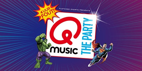 Qmusic the Party - 4uur FOUT! in Deurne (Noord-Brabant) 09-04-2021 tickets