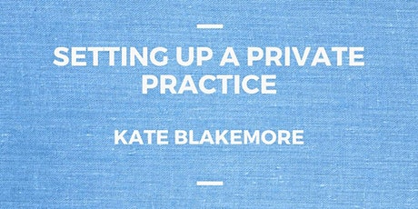 Setting up a Private Practice tickets
