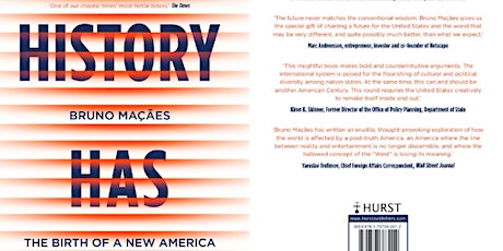 History Has Begun: The Dawn of a New America - Bruno Maçães in Conversation tickets