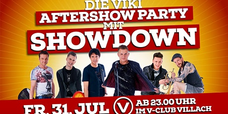 Die VIKI-Aftershowparty mit SHOWDOWN Day4 Tickets