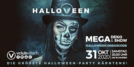 Hallo-V-een - die größte Halloween Party Kärntens im V-Club Villach Tickets