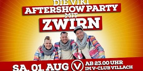 Die VIKI-Aftershowparty mit ZWIRN Day5 Tickets