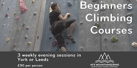 Beginners Indoor Climbing - 3, 10, 17th November tickets