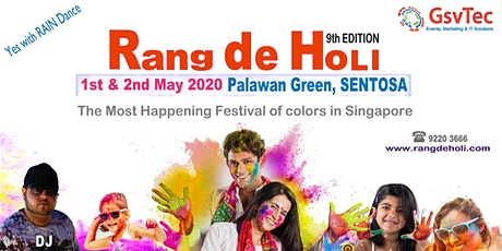 Rang De Holi 2020 tickets