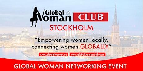GLOBAL WOMAN CLUB STOCKHOLM: BUSINESS NETWORKING BREAKFAST - JUNE biljetter
