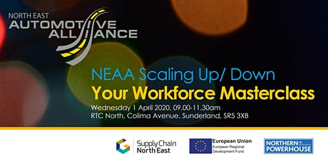 NEAA Scaling Up/ Down your Workforce Masterclass tickets