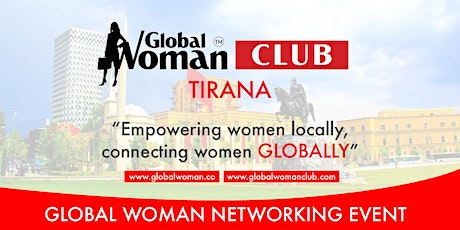 GLOBAL WOMAN CLUB TIRANA: BUSINESS NETWORKING BREAKFAST - NOVEMBER tickets
