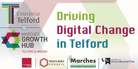 Driving Digital Change in Telford  tickets