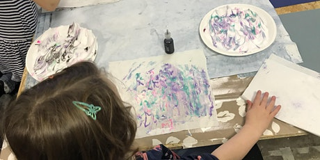 Marbling on Fabric  - Create your own design! tickets