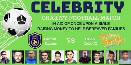 Rescheduled Once Upon a Smile Celebrity Charity Football Match tickets