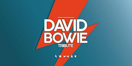 David Bowie tribute in Wolfheze (Gelderland) 04-09-2020 tickets