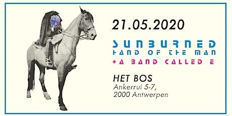 Sunburned Hand of the Man + A Band Called E (Thalia Zedek, Jason Sanford and Gavin McCarthy) tickets