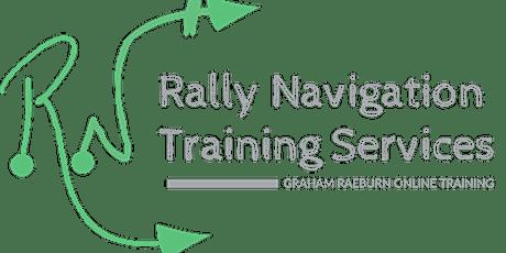 Rally Navigation - Intermediate Level - Regularity Timing tickets