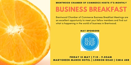 May 2020 Brentwood Chamber of Commerce Business Breakfast tickets