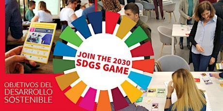 2030 SDGs Game para profesionales Latinoamericanos y Españoles en Países Bajos / Europa tickets