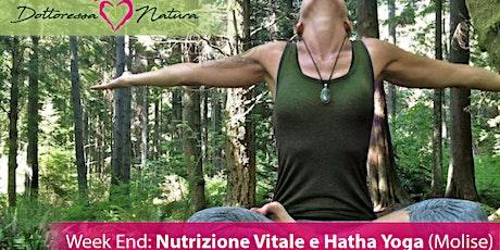 Week End: Nutrizione Vitale e Hatha Yoga (Molise) biglietti