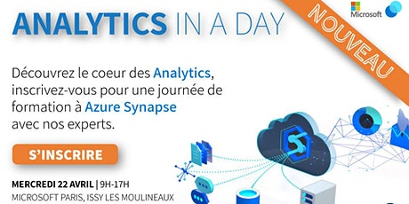 #3 Analytics In a Day - Workshop Microsoft Synapse tickets