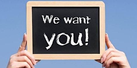 Recrutement bénévoles et stagiaires - 31 mars & 7 avril billets