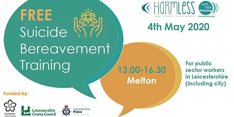 FREE Suicide Bereavement training (half day) - Melton Leicestershire tickets