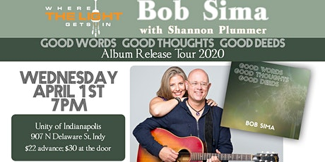 Indy IN: Virtual CD Release Concert (planned for Unity Indy) tickets