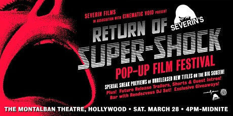 Severin's Super-Shock Pop-Up Film Festival tickets