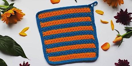 Sustainable Crochet Washcloth Workshop tickets