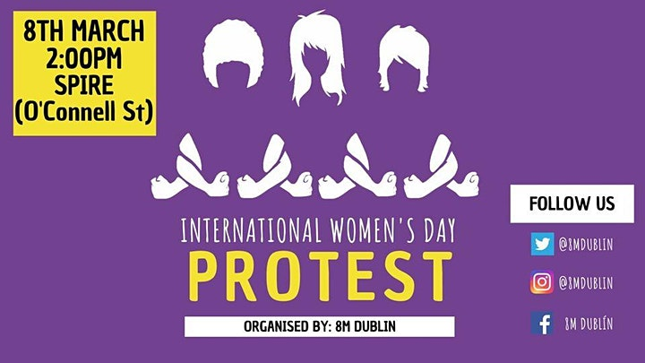 International Women's Day PROTEST image
