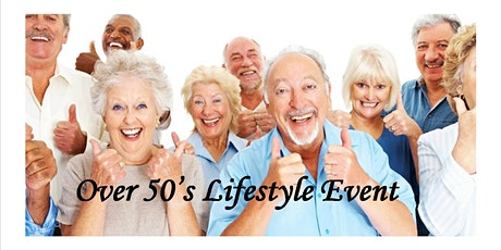 POSTPONED Derbyshire Dales Over 50's Lifestyle Event tickets