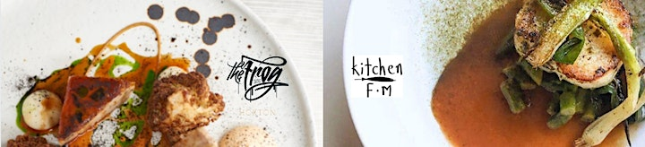 Guest Chefs Collaborations at Frog Hoxton - Kitchen FM image