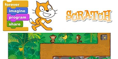 Corso di scratch: impariamo a creare un videogioco insieme biglietti