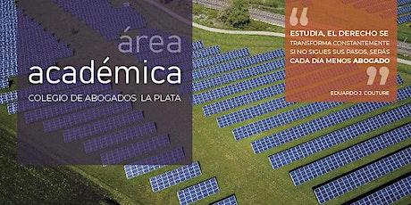 EVENTO SUSPENDIDO: LAS ENERGÍAS RENOVABLES Y LAS COMPETENCIAS MUNICIPALES. El caso particular de la Pcia. de Buenos Aires.  entradas