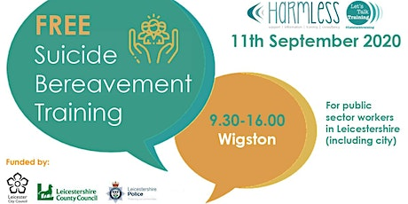 Suicide Bereavement training (full day) - Wigston, Leicestershire tickets