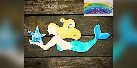 "30"" Wooden Mermaid: Dundalk, Seasoned Mariner with Artist Katie Detrich! tickets"