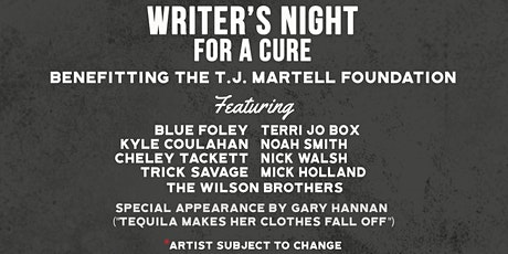 Writer's Night For A Cure: Benefitting the T.J. Martell Foundation tickets